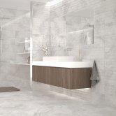 RAK Portofino Ceramic Wall Tiles 200mm x 600mm - Decor Blanco (Box of 9)