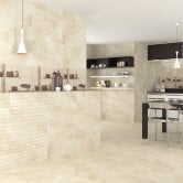 RAK Portofino Ceramic Wall Tiles 200mm x 600mm - Decor Stone (Box of 9)