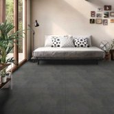 RAK Revive Concrete Matt Outdoor Tiles - 600mm x 600mm - Graphite Grey (Box of 2)