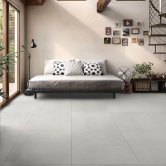 RAK Shine Stone Matt Tiles - 600mm x 600mm - White (Box of 4)