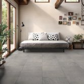 RAK Shine Stone Matt Tiles - 300mm x 600mm - Grey (Box of 6)