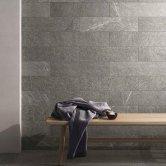 RAK Shine Stone Matt Tiles - 100mm x 600mm - Grey (Box of 18)