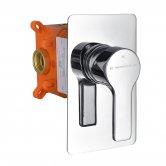 RAK Sport Thermostatic 1 Outlet Concealed Shower Valve - Chrome