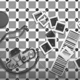 RAK Symphony Ornamental A Tiles 200mm x 200mm - Matt Decor (Box of 14)