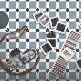 RAK Symphony Ornamental B Tiles 200mm x 200mm - Matt Decor (Box of 14)