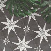 RAK Symphony Star A Tiles 200mm x 200mm - Matt Decor (Box of 14)