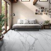 RAK Valley Stone Matt Tiles - 600mm x 1200mm - Light Grey (Box of 2)