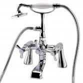 RAK Washington Bath Shower Mixer Tap Deck Mounted - Chrome