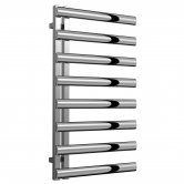 Reina Cavo Designer Heated Towel Rail 880mm H x 500mm W Polished Stainless Steel