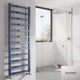 Reina Fano Designer Heated Towel Rail 1500mm H x 485mm W Brushed