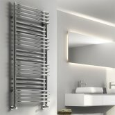 Reina Marco Designer Heated Towel Rail 1400mm H x 500mm W Chrome