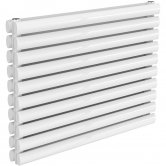 Reina Nevah Double Designer Horizontal Radiator 590mm H x 800mm W RAL