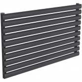 Reina Nevah Single Designer Horizontal Radiator 590mm H x 1000mm W Anthracite