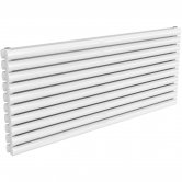 Reina Nevah Double Designer Horizontal Radiator 590mm H x 1400mm W RAL