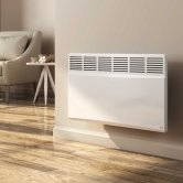 Reina Optima 500W Electric Convector Radiator 450mm H x 445mm W - White
