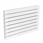 Reina Rione Double Designer Horizontal Radiator 550mm H x 800mm W RAL
