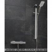 Sagittarius Capri Deluxe Bar Mixer Shower Valve with Shower Kit - Chrome