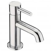 Sagittarius Ergo Mini Mono Basin Tap with Sprung Waste - Chrome