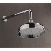 Sagittarius York Fixed Shower Head and Arm