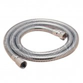 Sagittarius 12mm Conical End Double Interlock Shower Hose 1.5m - Chrome