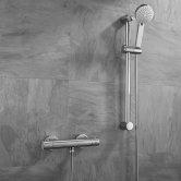 Sagittarius Sirio Bar Mixer Shower with Shower Kit - Chrome
