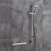 Sagittarius Viareggio Deluxe Bar Mixer Shower with Shower Kit - Chrome