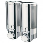 Sagittarius Vienna 2 Section Soap Dispenser Chrome