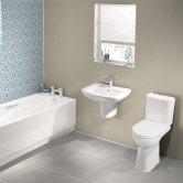 Showerwall Proclick MDF Shower Panel 600mm Wide x 2440mm High - Vanilla Sparkle
