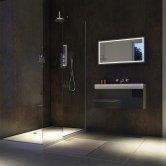 Showerwall Proclick MDF Shower Panel 600mm Wide x 2440mm High - Urban Gloss