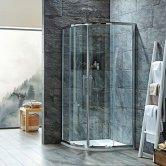 Signature 8mm Double Door Quadrant Shower Enclosure 800mm x 800mm