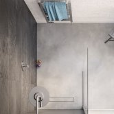 Lakes Alassio Walk-In Shower Panel 700mm Wide - 8mm Glass