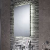 Signature Backlit LED Bathroom Mirror 700mm H x 500mm W
