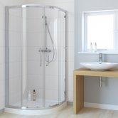 Lakes Classic Double Door Quadrant Shower Enclosure 800mm x 800mm - 6mm Glass