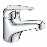 Signature Lunea Mono Basin Mixer Tap Single Handle with Waste - Chrome
