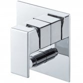 Signature Lys Manual Concealed Shower Valve with Diverter Single Handle - Chrome