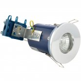 Signature Fire Rated Shower Downlight - Chrome