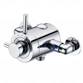 Signature Thermostatic Exposed Shower Valve Single Outlet - Stainless Steel