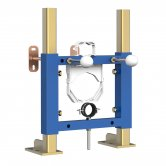 Signature Wall Hung WC Frame 508mm H x 385mm W - Blue