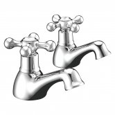 Signature Modo2 Bath Taps Pair Deck Mounted - Chrome