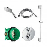 Signature Temptation Thermostatic Concealed Mixer Shower with Shower Kit