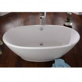 Signature Varese Freestanding Bath 1700mm x 800mm - Lucite Acrylic