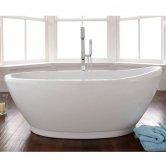 Signature Varese S Freestanding Slipper Bath 1700mm x 800mm - Lucite Acrylic