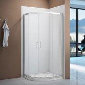 Signature Vibrance Double Door Quadrant Shower Enclosure 900mm x 900mm - 6mm Glass