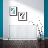Stelrad Softline Radiator 600mm H x 400mm W Single Convector