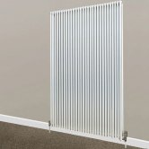 S4H Chaucer Double Vertical Radiator 1820mm H x 504mm W - White