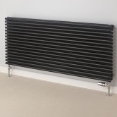 S4H Chaucer Double Horizontal Radiator 402mm H x 1220mm W - RAL