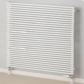 S4H Chaucer Double Horizontal Radiator 538mm H x 920mm W - White
