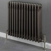 S4H Cornel 3 Column Horizontal Radiator 500mm H x 609mm W - 13 Sections - Lacquer