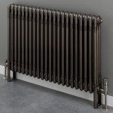 S4H Cornel 4 Column Horizontal Radiator 500mm H x 474mm W - 10 Sections - Lacquer