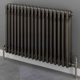 S4H Cornel 3 Column Horizontal Radiator 500mm H x 834mm W - 18 Sections - Lacquer